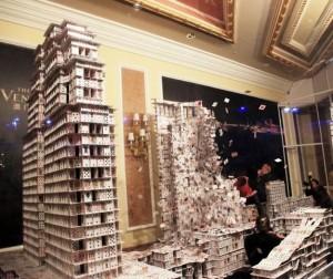 Distruzione Castello Carte