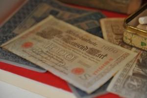 Banconote usate nell'editoria (e non) come fiches per i giochi da tavolo