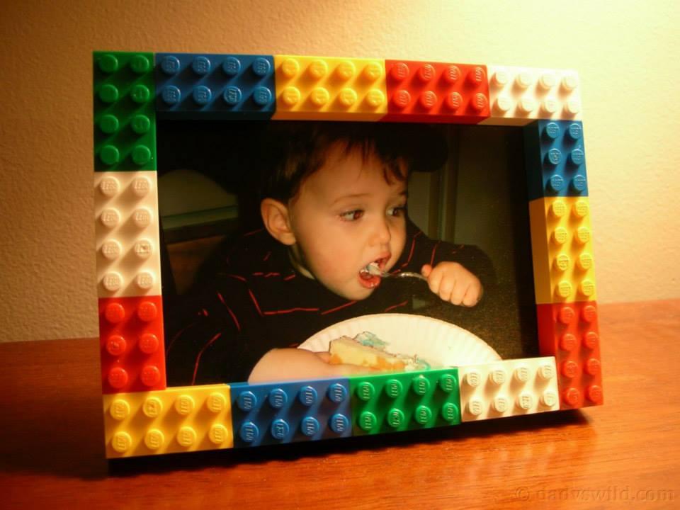 Idea per laboratorio Cornice Lego
