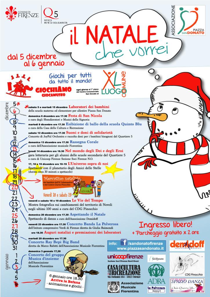 Programma de Il natale che vorrei Novoli Firenze Giochi per Bambini
