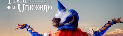Festa dell'Unicorno a Vinci - 21-23 Luglio 2017 - con GiochiAmo Giocamuseo!!!