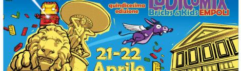 Giocamuseo a Ludicomix 2018 Empoli - 21 e 22 Aprile 2018