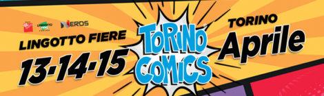 GIOCAMUSEO A TORINO COMICS 2018!!! 13-14-15 Aprile 2018